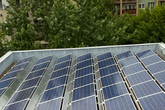 Installation of a photovoltaic system in Heves – 74.5 kW